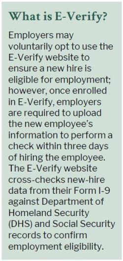 What is E-Verify?